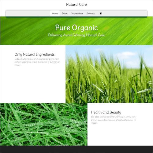 natural-1 Web Builder