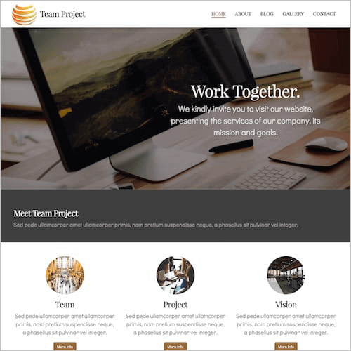 project-1 Web Builder