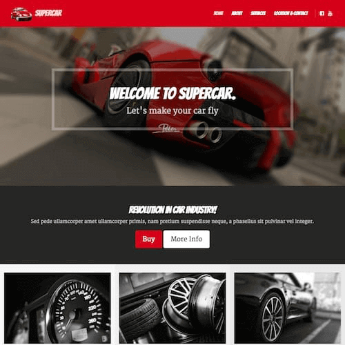 supercar-1 Web Builder