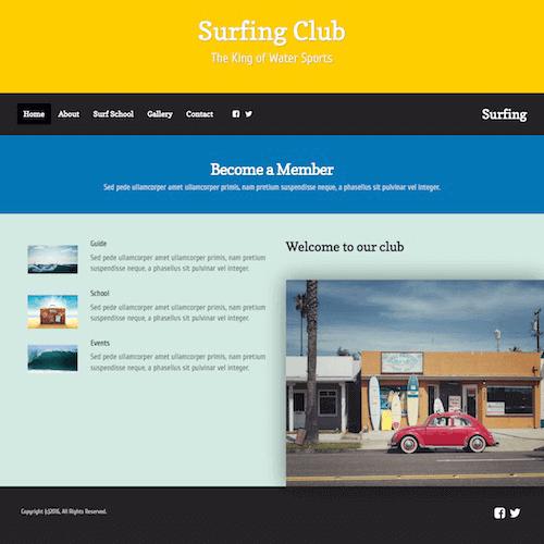 surfing-1 Web Builder