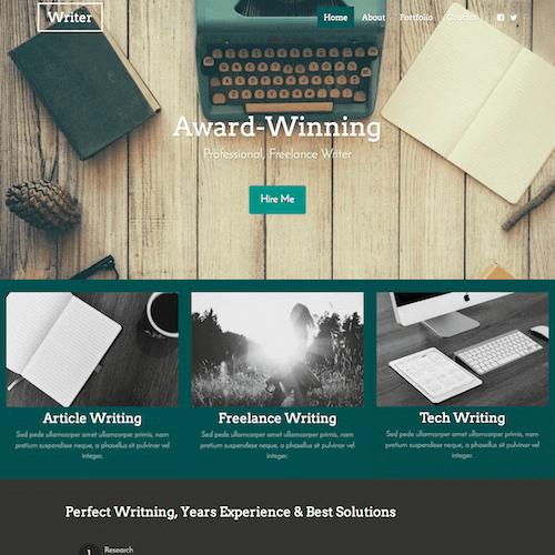 writer-1 Web Builder