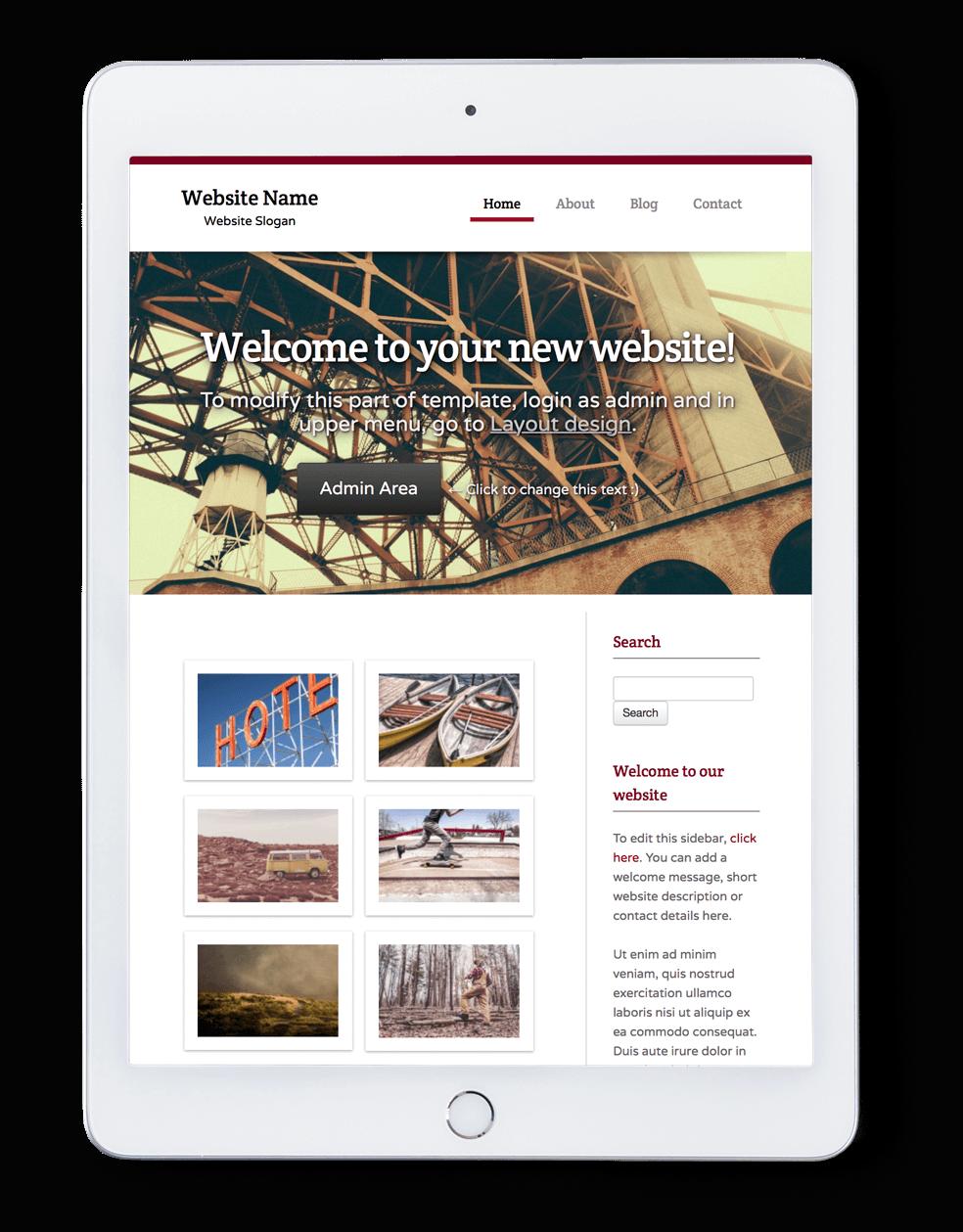 website-1 New Home